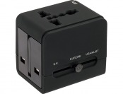 48% off Lewis N. Clark Global Electrical Adapter w/ USB Charger