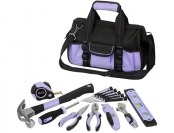 34% off WorkPro 54pc Lady Tool Set, Lavender
