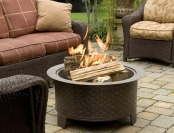 $172 off CobraCo Woven Base Cast Iron Fire Pit