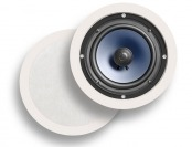 $152 off Polk Audio RC60i 2-Way In-Ceiling Speakers (Pair, White)