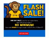 Save 20% off Your Purchase at ThinkGeek