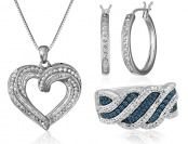 Up to 70% off Diamond Jewelry - Necklaces, Earrings, & Rings