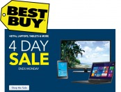 Best Buy Four Day Sale Event - HDTVs, Laptops, Tablets & More