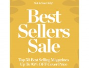 DiscountMags Best Sellers Sale- Up to 95% off 50 Titles