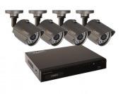 $150 off Q-SEE QT534-4H4-5 4-Ch Surveillance System