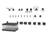 $46 off Gladiator GAWA24SKRH GearTrack and GearWall Kit 2