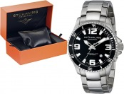 82% off Stuhrling Original 395.33B11 Aquadiver Swiss Watch