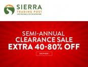 Sierra Trading Post Semi-Annual Clearance Sale - Up to 80% off