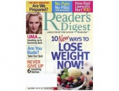 $47 off Reader's Digest Large Print Magazine, 10 Issues / $12.99