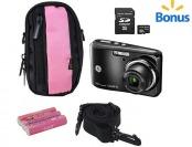 33% off GE C1640W Digital Camera + SD Card + Camera Case