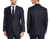 $295 off Tommy Hilfiger Men's Navy Suit Separate Jacket
