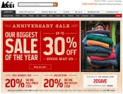 REI Anniversary Sale - Up to 30% off