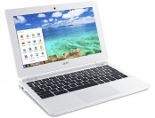 "$71 off Acer White 11.6"" Chromebook PC, Refurb"