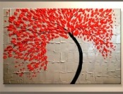 74% off Yihui Arts Modern Abstract Stretched Canvas Oil Painting