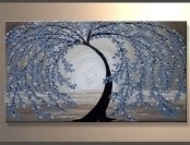 72% off Santin Art Modern Abstract Stretched Canvas Oil Painting