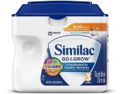 20% off Similac Go & Grow Toddler Drink with Iron, Stage 3, 1.38lb