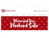 6pm.com Memorial Day Sale - Huge Savings on Top Brands