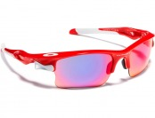 $110 Oakley Fast Jacket XL Iridium Sport Sunglasses