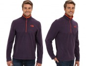 58% off The North Face TKA 100 Glacier Men's 1/4 Zip
