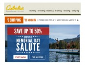 Cabel's Memorial day Sale - Huge Savings on Top-Selling Items