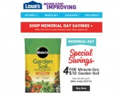 Lowes Memorial Day Special Sale Event
