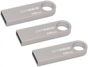 49% off 3x Kingston DataTraveler SE9 16GB USB 2.0 Flash Drives