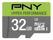 $30 off PNY 32GB microSDHC Memory Card P-SDU32GU365G-GE