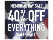 Mmeorial Day Sale - Extra 40% off Everything at Allposters.com