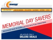 Newegg Memorial Day Savers Deals