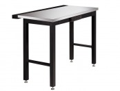 "$79 off NewAge 48"" Metal Workbench with Stainless Steel Top"