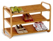 53% off Honey Can Do 3-Tier Deluxe Bamboo Shoe Shelves