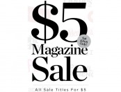 DiscountMags Magazine Sale - Annual Subscriptions for $5
