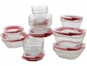 33% off Rubbermaid Easy Find Lid Glass Food Storage Set, 22-piece