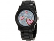 86% off Sprout Diamond & Hearts Corn Resin Women's Watch