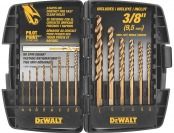 64% off DeWalt DW1263 14-Pc Cobalt Pilot Point Drill Bit Set