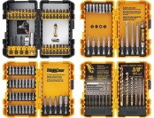 20% off DeWalt DWA2FTS100 100 Pc Screwdriving and Drilling Set