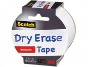 85% off Scotch Dry Erase Tape, White, 1.88-Inch x 5-Yard