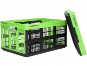 52% off Clever Crates Collapsible Grated Storage Container, 45 Liter