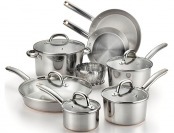 $160 off T-fal Ultimate Stainless Steel 13-Pc Cookware Set