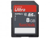 64% off SanDisk Ultra 8GB SDHC UHS-I Class 10 Memory Card