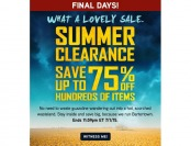 ThinkGeek Summer Clearance Sale - Up to 75% Off of Hundreds of Items