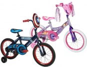 "25% off 16"" Disney or Marvel Kids Bike, 7 choices"