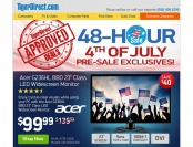 48-Hour Tiger Direct 4th of July Pre-Sale - Tons of Great Deals