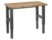 $140 off Gladiator GAWB04MTZG 4' Maple Adjustable Work Bench