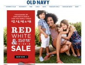 Old Navy $2, $4, $6, $8 Deals + 50% Off Graphic Tees & Tanks