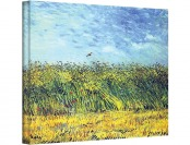 98% off Green Wheat Fields by Vincent Van Gogh Gallery Canvas