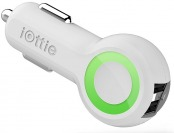 60% off iOttie RapidVolt 5A/25W Dual Port USB Car Charger, White
