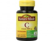 78% off Nature Made Vitamin C 500mg w/ Rose Hips, (130 Tablets)