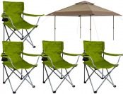 $69 off Chapter 13' x 13' Pagoda Instant Canopy w/ 4 Folding Chairs