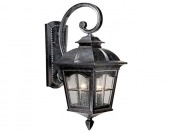 "$94 off Vaxcel Arcadia 9"" Outdoor Wall Light, Burnished Patina"